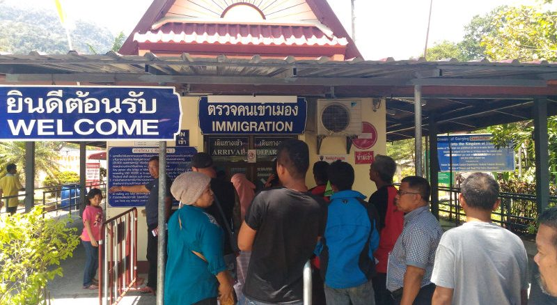 Visum, Einreise nach Thailand auf dem Landweg