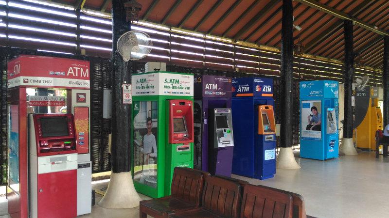 Banken | Geldautomaten Thailand | Kreditkarten