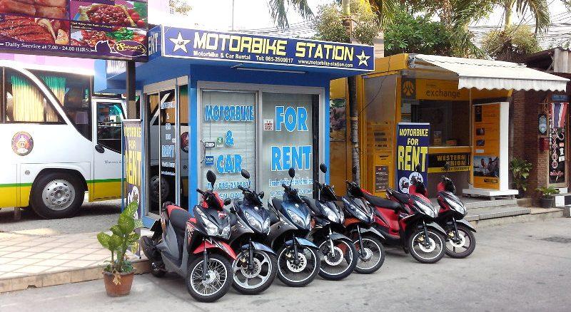 Motorrad | Roller Mieten auf Phuket