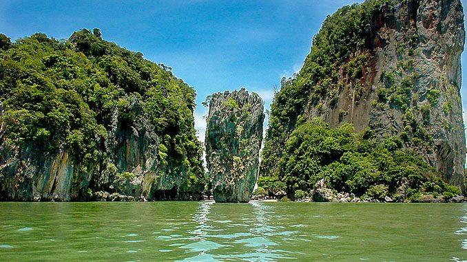 James Bond Island, Touristenansicht