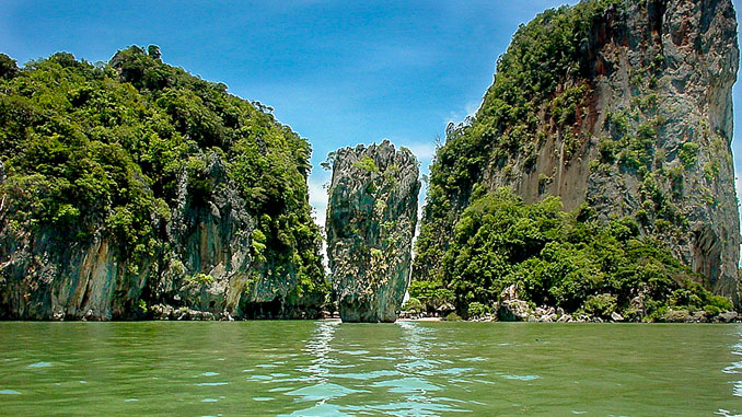 James Bond Island, Touristenansicht