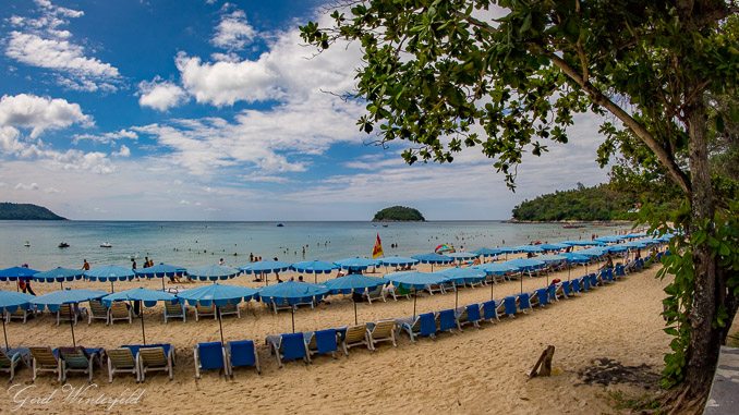 Der Kata Beach auf Phuket