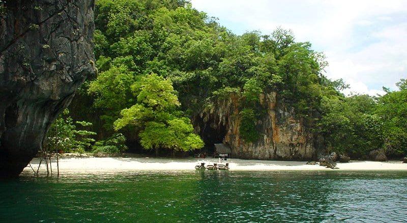 Andere Inseln | Strand auf Paradise Island, Phang Nga Bay