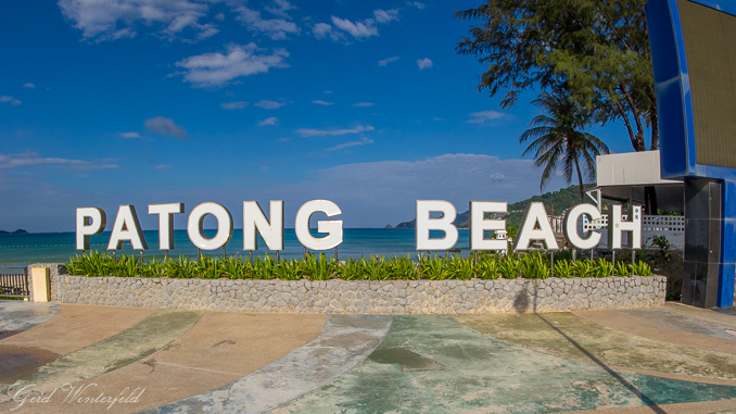 Patong Beach Monument