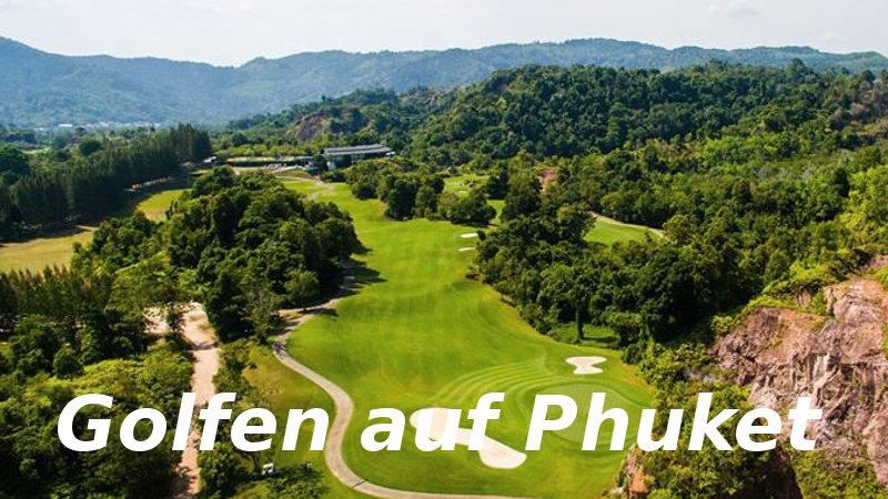 Golfen auf Phuket
