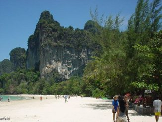 Der Railay Beach in Krabi