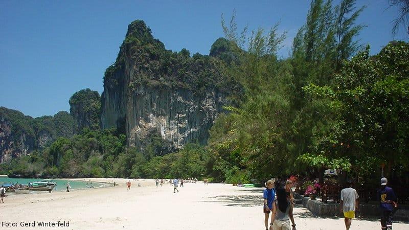Der Railay Beach in Krabi