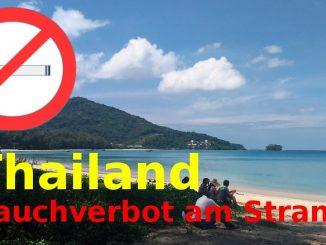 Rauchverbot am Strand von Phuket