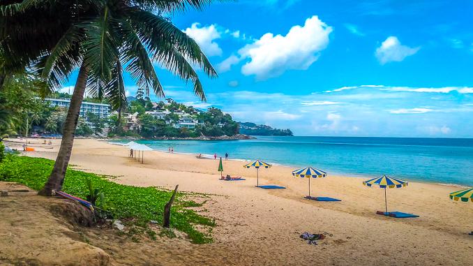 Der Surin Beach auf Phuket, 2017